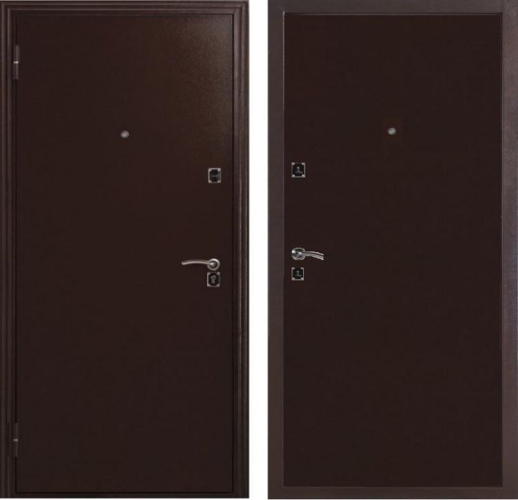 Двери входные металлические ДС 134 м/м