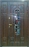 Металлические двери в квартиру GRAF GLASS 1200