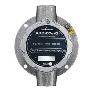 ККВ-07е-О-П Коробка коммутационная общепромышленного исполнения проходная