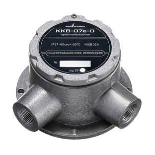 ККВ-07е-О-У Коробка коммутационная общепромышленного исполнения угловая