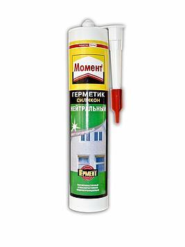 Герметик силиконовый МОМЕНТ Нейтральный, прозрачный 280мл