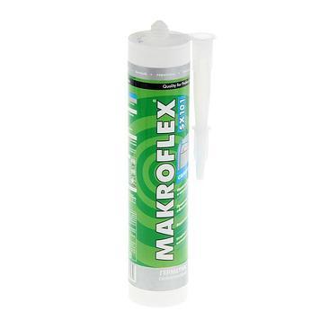 MAKROFLEX SX 101 Санитарный Силиконовый герметик для помещений с повышенной влажностью Белый, 280 мл