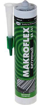 MAKROFLEX BA 141 Битумный Герметик для кровли, вентиляционных и водосточных труб Черный, 300 мл