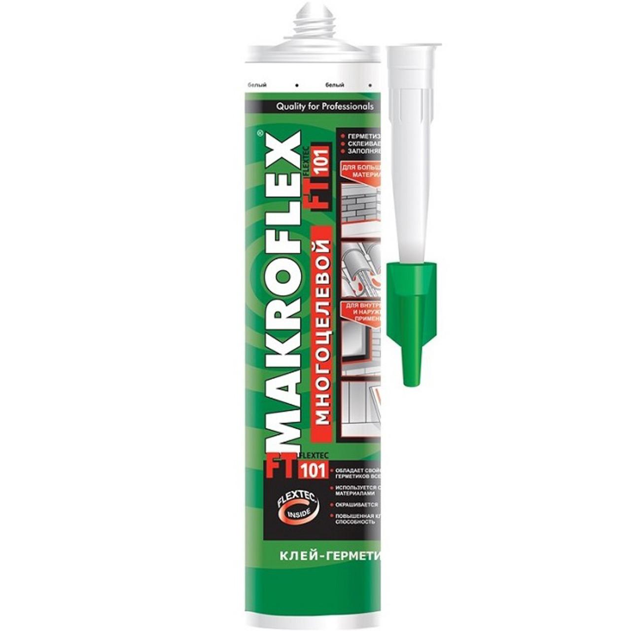 MAKROFLEX FT 101 Многоцелевой герметик на основе фирменной технологии Henkel Flextec®