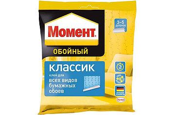 МОМЕНТ Классик Обойный клей для бумажных обоев, 100 г