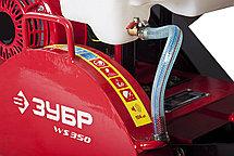 """Швонарезчик бензиновый, ЗУБР, 115 мм, 5,5 л.с., 4000 Вт, серия """"Профессионал"""" (двигатель""""Honda"""") (ЗШБ-350 Х), фото 3"""