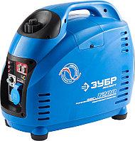 Генератор бензиновый, ЗУБР, 1/1.2 кВт, Инверторный, однофазный, синхронный (ЗИГ-1200)