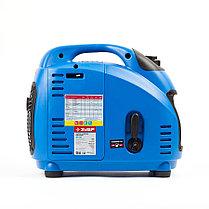 Генератор бензиновый, ЗУБР, 1/1.2 кВт, Инверторный, однофазный, синхронный  (ЗИГ-1200), фото 2