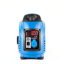 Генератор бензиновый, ЗУБР, 1/1.2 кВт, Инверторный, однофазный, синхронный  (ЗИГ-1200), фото 3