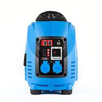 Генератор бензиновый, ЗУБР, 1.6/2.0 кВт, Инверторный, однофазный, синхронный  (ЗИГ-2000), фото 3
