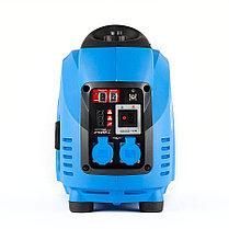 Генератор бензиновый, ЗУБР, 2.2/2.5 кВт, Инверторный, однофазный, синхронный  (ЗИГ-2500), фото 3