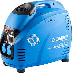 Генератор бензиновый, ЗУБР, 3/3.5 кВт, Инверторный, однофазный, синхронный  (ЗИГ-3500)