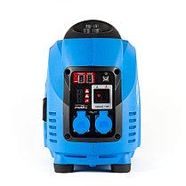 Генератор бензиновый, ЗУБР, 3/3.5 кВт, Инверторный, однофазный, синхронный  (ЗИГ-3500), фото 2