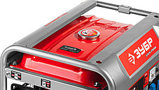 Генератор бензиновый, ЗУБР, 2.5/2.8 кВт, однофазный, синхронный, щеточный (ЗЭСБ-2800), фото 3