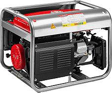 Генератор бензиновый, ЗУБР, 2.5/2.8 кВт, однофазный, синхронный, щеточный (ЗЭСБ-2800-Э), фото 2