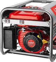 Генератор бензиновый, ЗУБР, 3/3.5 кВт, однофазный, синхронный, щеточный (ЗЭСБ-3500-ЭМ2), фото 2