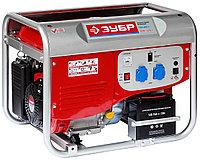 Генератор бензиновый, ЗУБР, 4/4.5 кВт, однофазный, синхронный, щеточный (ЗЭСБ-4000-Э)