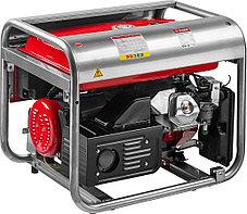 Генератор бензиновый, ЗУБР, 4/4.5 кВт, однофазный, синхронный, щеточный (ЗЭСБ-4500-Э), фото 2
