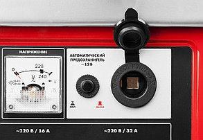Генератор бензиновый, ЗУБР, 4/4.5 кВт, однофазный, синхронный, щеточный (ЗЭСБ-4500-ЭА), фото 2