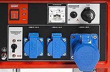 Генератор бензиновый, ЗУБР, 5/5.5 кВт, однофазный, синхронный, щеточный (ЗЭСБ-5500-Э), фото 3