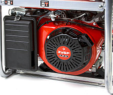 Генератор бензиновый, ЗУБР, 5/5.5 кВт, однофазный, синхронный, щеточный (ЗЭСБ-5500-ЭА), фото 3