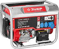 Генератор бензиновый, ЗУБР, 5.7/6.2 кВт, однофазный, синхронный, щеточный (ЗЭСБ-6200-ЭА)