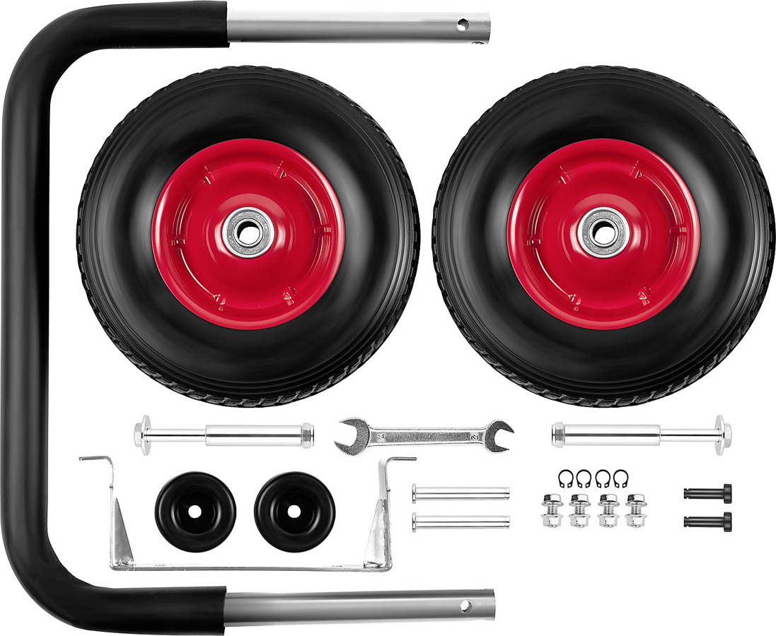 Набор колес + рукоятка, ЗУБР, для генераторов мощностью свыше 4000 Вт (ЗЭСБ-РК-2)