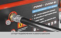 Генератор комбинированный, ЗУБР, 2/2.2 кВт, однофазный, синхронный, щеточный, бензин-газ (ЗЭСГ-2200-М2), фото 2