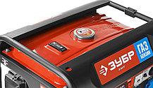 Генератор комбинированный бензин-газ, ЗУБР, 3/3.5 кВт, однофазный, синхронный, щеточный (ЗЭСГ-3500-М2), фото 3