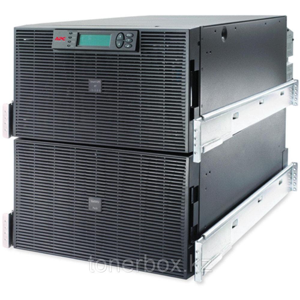 Источник бесперебойного питания APC Smart-UPS RT SURT15KRMXLI (Двойное преобразование (On-Line), C возможностью установки в стойку, 15000 ВА, 12000