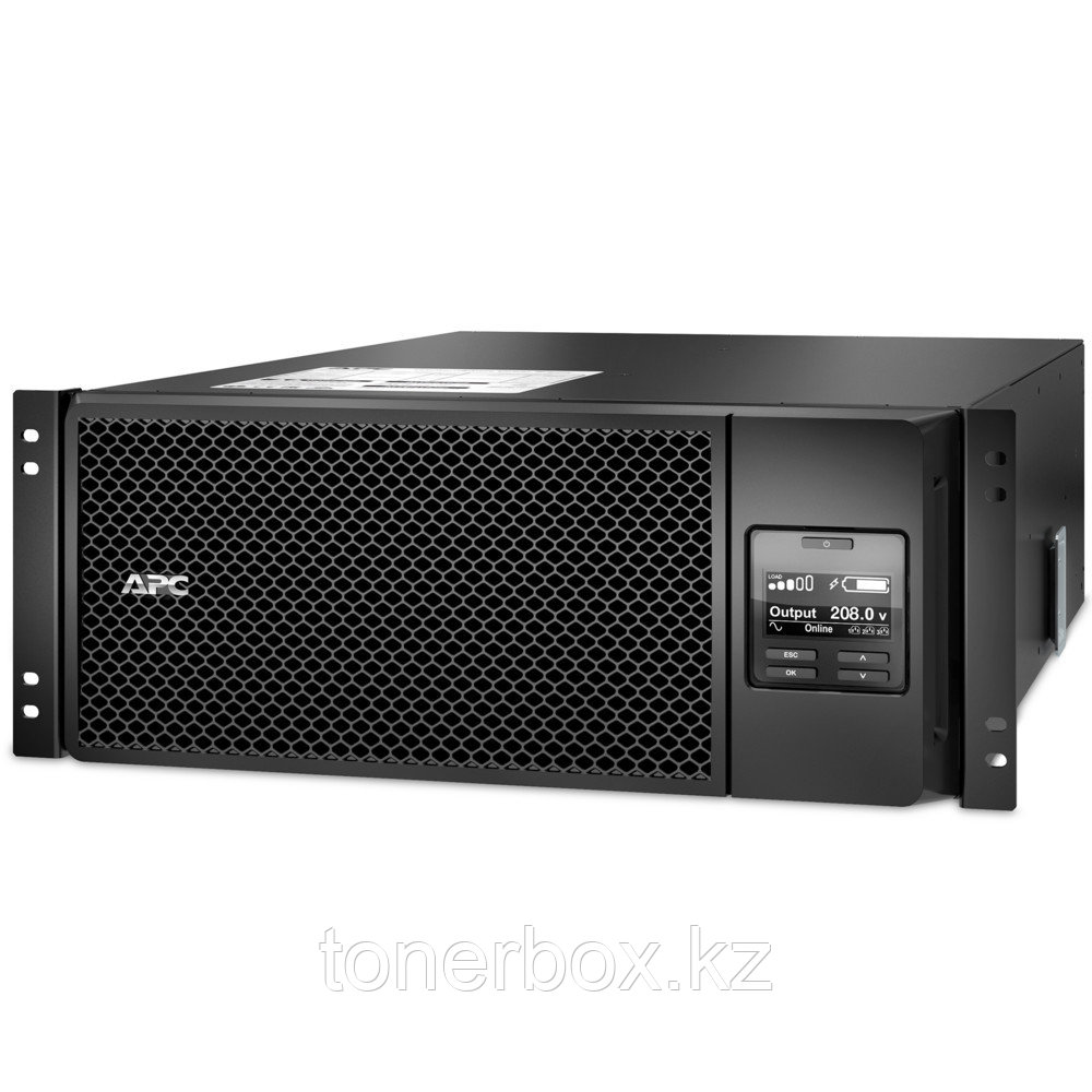 Источник бесперебойного питания APC Smart-UPS SRT RM 230 В SRT6KRMXLI (Двойное преобразование (On-Line), C