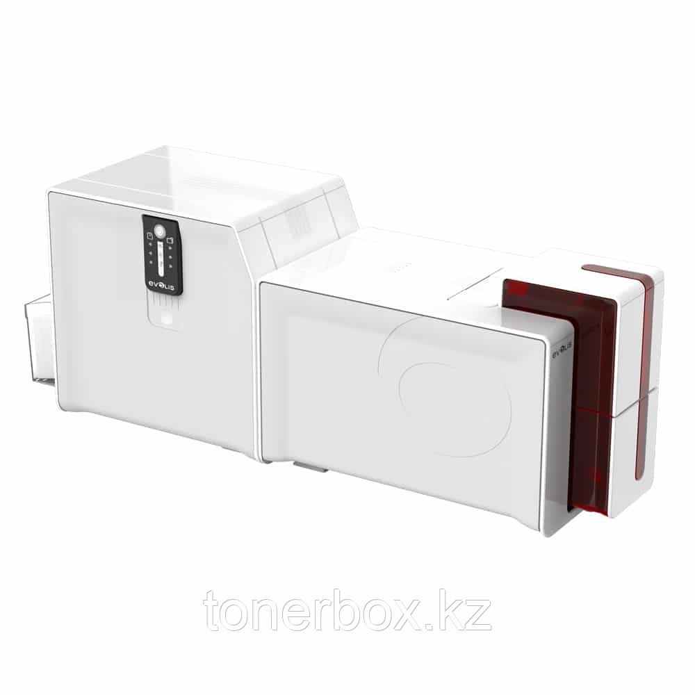 Принтер для карт Evolis Primacy Lamination Simplex Expert Smart & Contactless Fire RedPrinter with Evolis Elyctis Dual Smart Card and Contactless