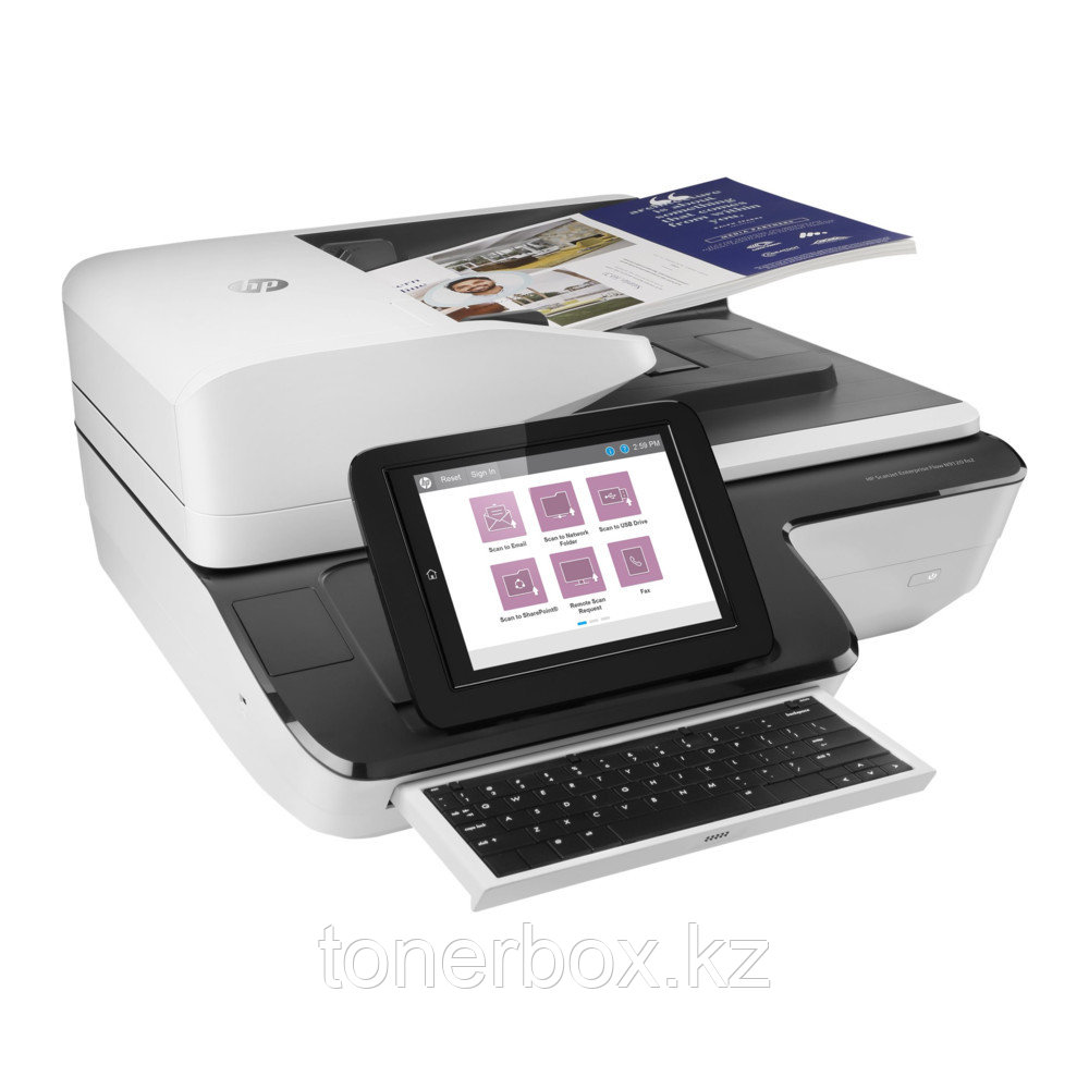 Планшетный сканер HP Scanjet Enterprise Flow N9120 fn2 L2763A (A3, Цветной, CIS)