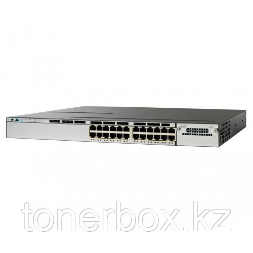Коммутатор Cisco Catalyst 3750X WS-C3750X-24P-L (1000 Base-TX (1000 мбит/с), Без SFP портов)