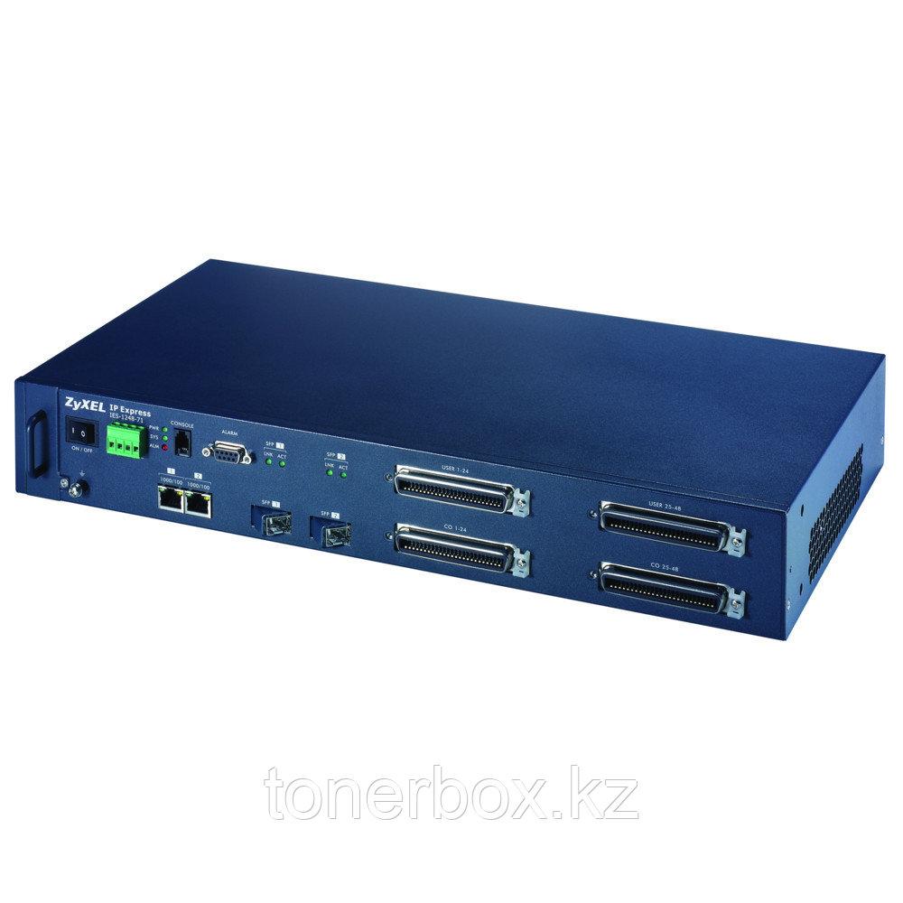 Коммутатор Zyxel IES-1248-51 A (Без LAN портов, 2 SFP порта)