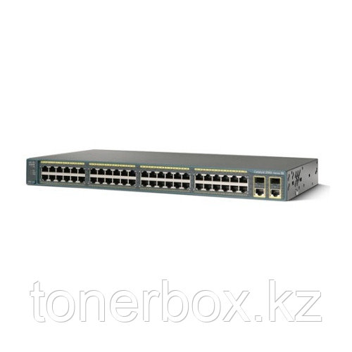 Коммутатор Cisco Catalyst 2960-X WS-C2960X-48TS-L (1000 Base-TX (1000 мбит/с), 4 SFP порта)
