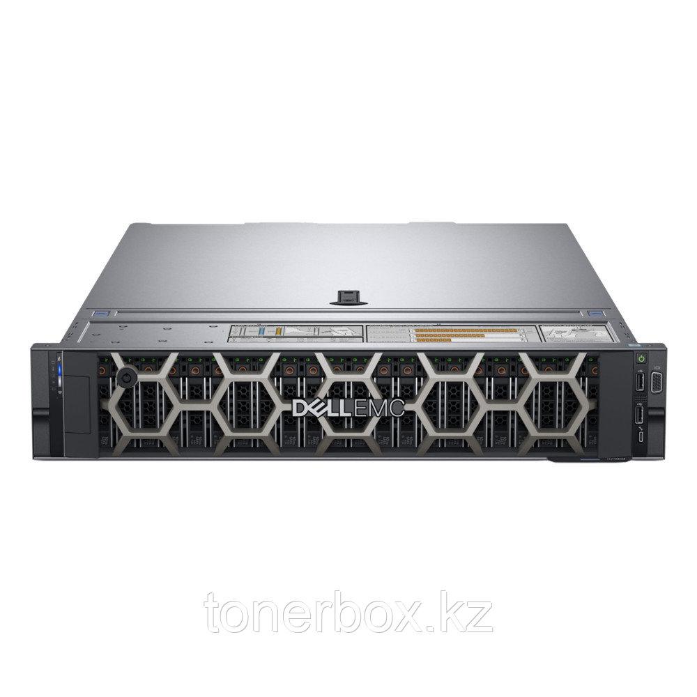 "Сервер Dell PowerEdge R740 210-AKXJ-A2 (2U Rack, Xeon Silver 4208, 2100 МГц, 8 ядер, 11 Мб, 1x 16 ГБ, 2.5"", 24 шт, 1x 600 ГБ)"