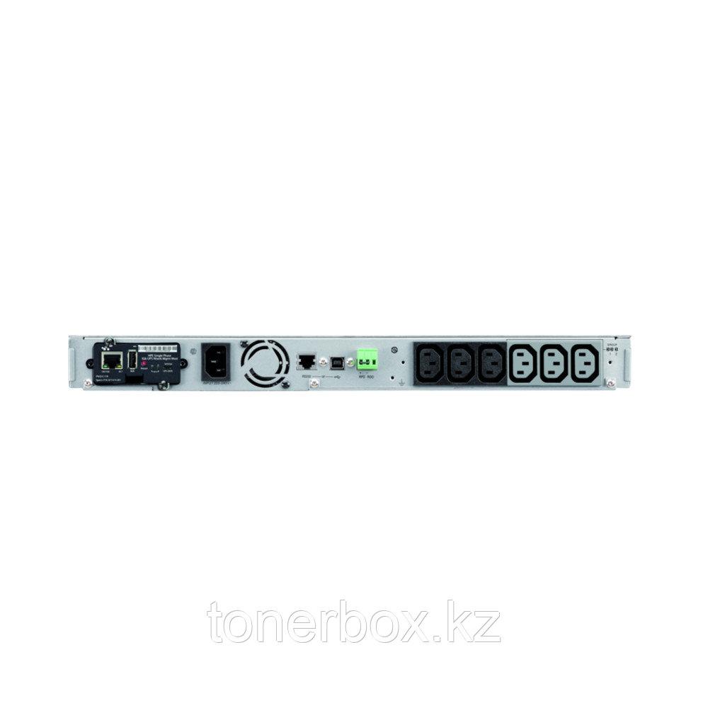 Источник бесперебойного питания HPE R1500 G5 Q1L90A (Линейно-интерактивные, C возможностью установки в стойку, 1550 ВА, 1100 Вт)