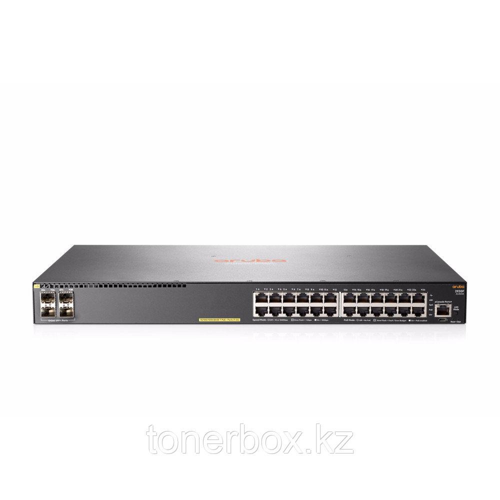Коммутатор Aruba 2930F 24G 4SFP Swch JL259A (1000 Base-TX (1000 мбит/с), Без SFP портов)