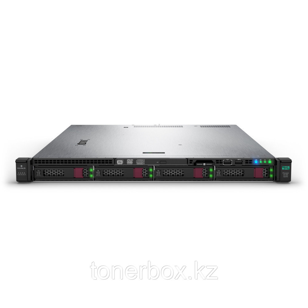 "Сервер HPE Enterprise DL325 Gen10 P04646-B21 (1U Rack, EPYC 7251, 2100 МГц, 8 ядер, 32 Мб, 1x 8 ГБ, 3.5"", 4 шт, Без HDD)"