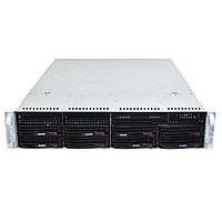 "Сервер Supermicro X10DRL-i SMR0136 (2U Rack, Xeon E5-2620 v4, 2100 МГц, 8 ядер, 20 Мб, 2x 16 ГБ, 3.5"", 8 шт, Без HDD)"