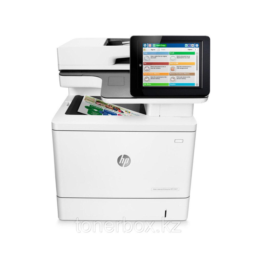 МФУ HP Color LaserJet Enterprise MFP M577dn B5L46A (А4, Лазерный, Цветной)