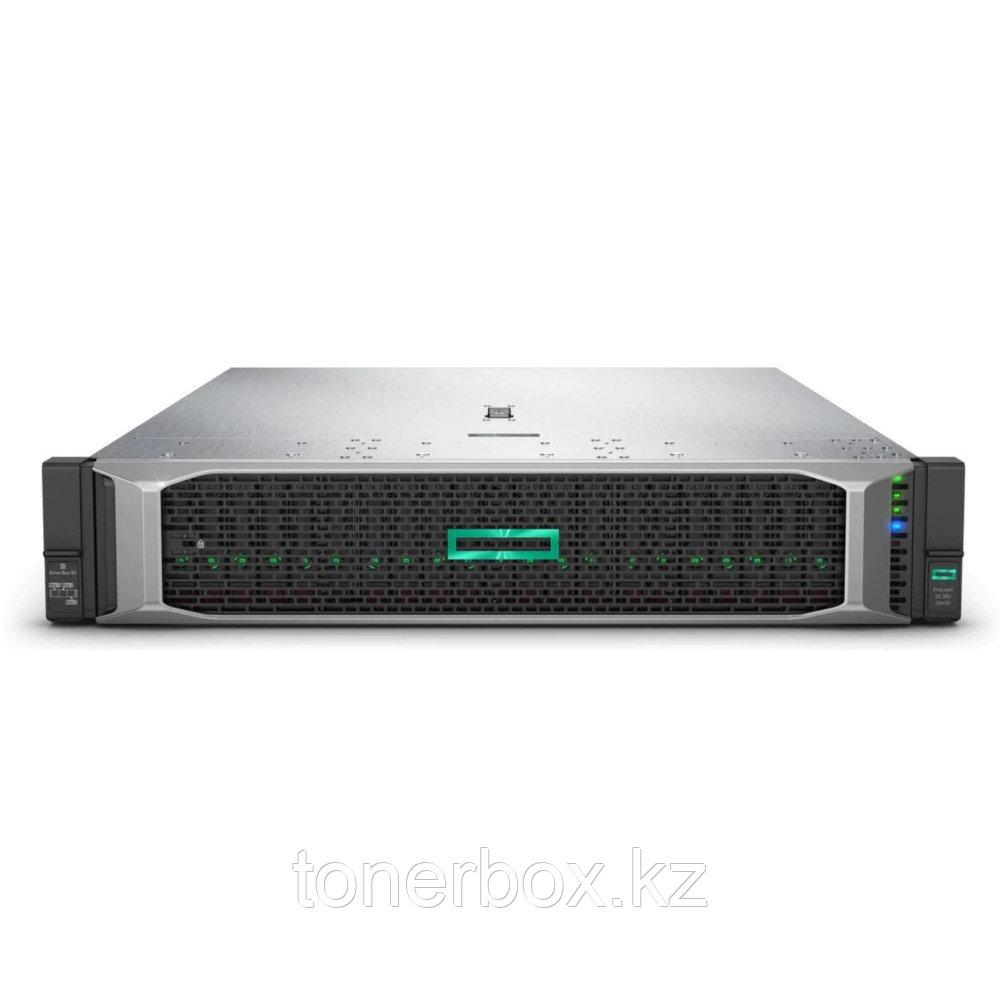 "Сервер HPE DL380Gen10 P24841-B21 (2U Rack, Xeon Silver 4210R, 2400 МГц, 10 ядер, 13.75 Mб, 1x 32 ГБ, 2.5"", 24 шт, Без HDD)"