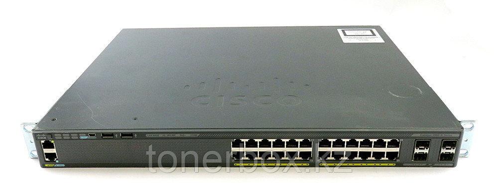 Коммутатор Cisco Catalyst 2960-X WS-C2960X-24PS-L (1000 Base-TX (1000 мбит/с), 4 SFP порта)