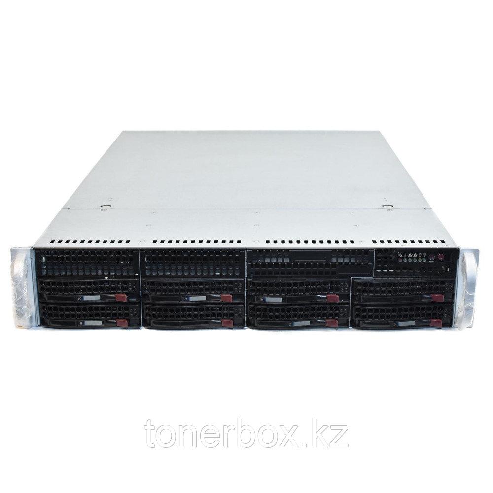 "Сервер Supermicro CSE-825TQ-R740LPB SMR0138 (2U Rack, Xeon Silver 4112, 2600 МГц, 4 ядра, 8.25 Мб, 1x 16 ГБ, 3.5"", 8 шт, Без HDD)"