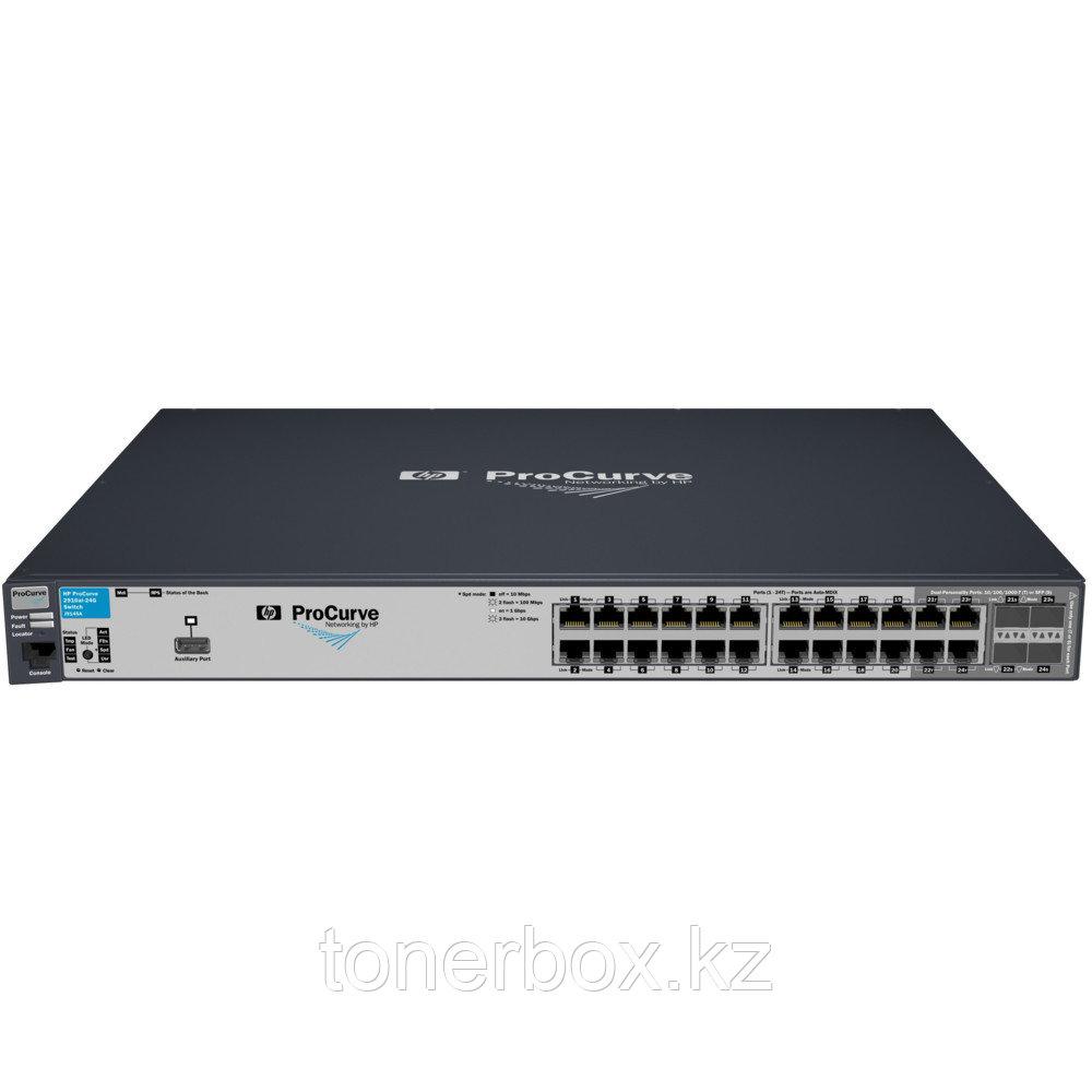 Коммутатор HPE ProCurve 2910al-24G J9145A (1000 Base-TX (1000 мбит/с), 4 SFP порта)