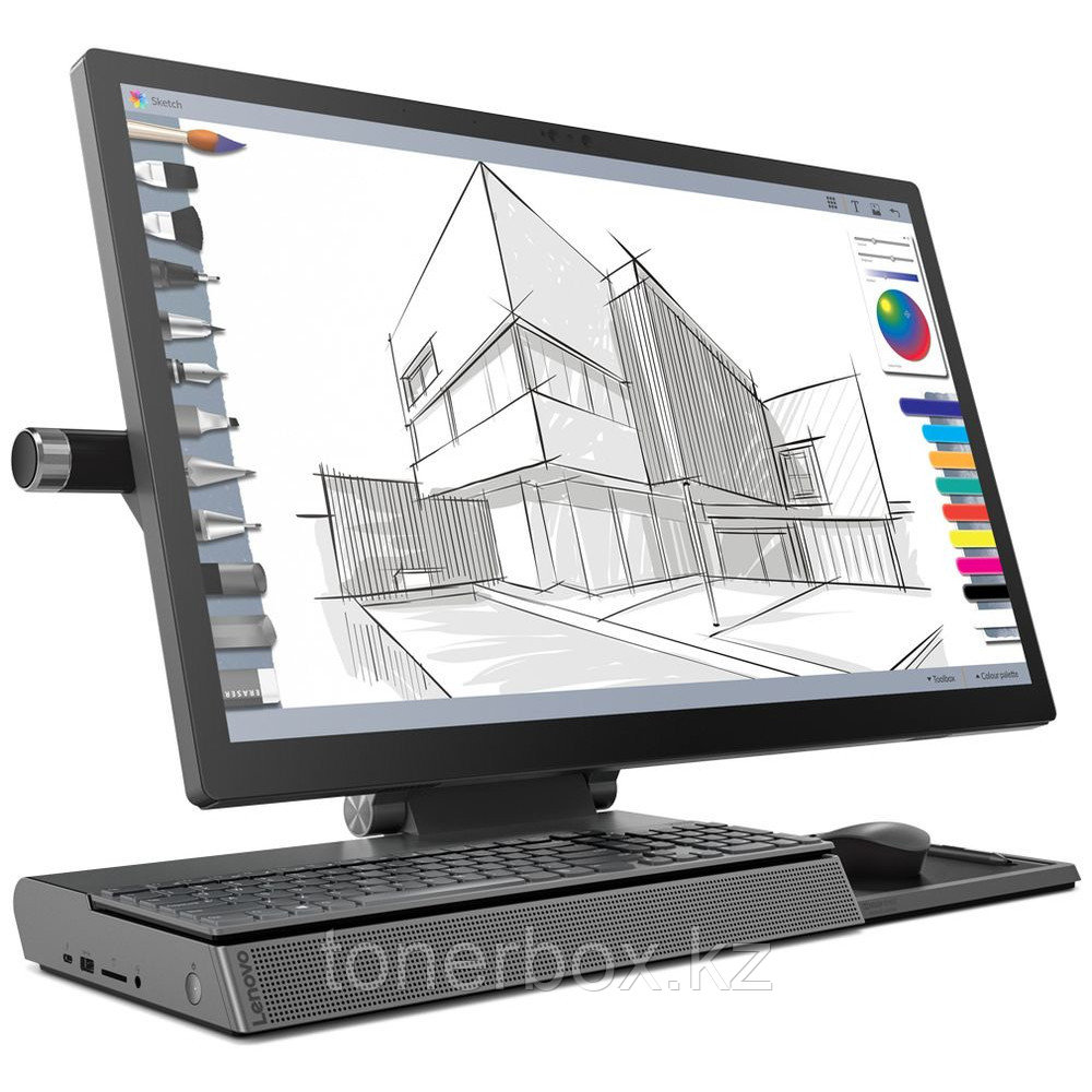 "Моноблок Lenovo IdeaCentre YOGA A940-27ICB F0E4000GRK (27 "", Intel, Core i5, 8400T, 1.7 ГГц, 16 Гб, HDD и SSD,"