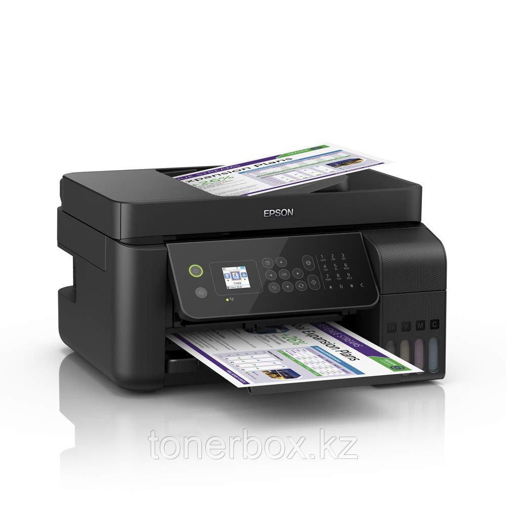 МФУ Epson L5190 Wi-Fi AiO (А4, Струйный, Цветной)