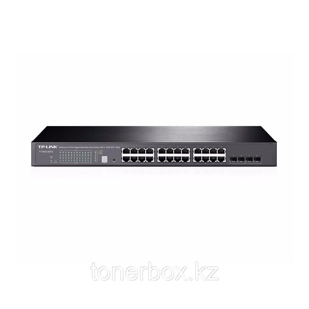Коммутатор TP-Link T1700G-28TQ (1000 Base-TX (1000 мбит/с), 4 SFP порта)