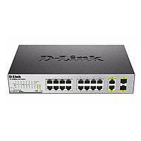 Коммутатор D-link DES-1018P DES-1018P/A1A (100 Base-TX (100 мбит/с), 2 SFP порта)